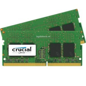 RAM Laptop DDR4 Crucial 16GB Kit 8GBx2 Bus 2133