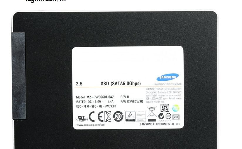 SSD Enterprise Samsung SV843 960gb