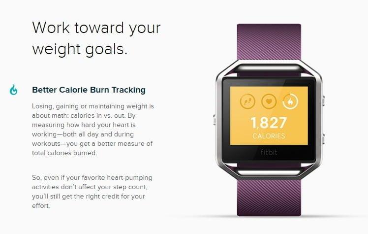 Đồng Hồ Thông Minh Fitbit Blaze hình 2.1