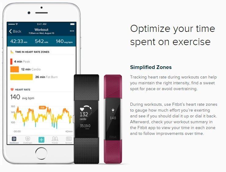 Đồng Hồ Thông Minh Fitbit Blaze hình 2.2