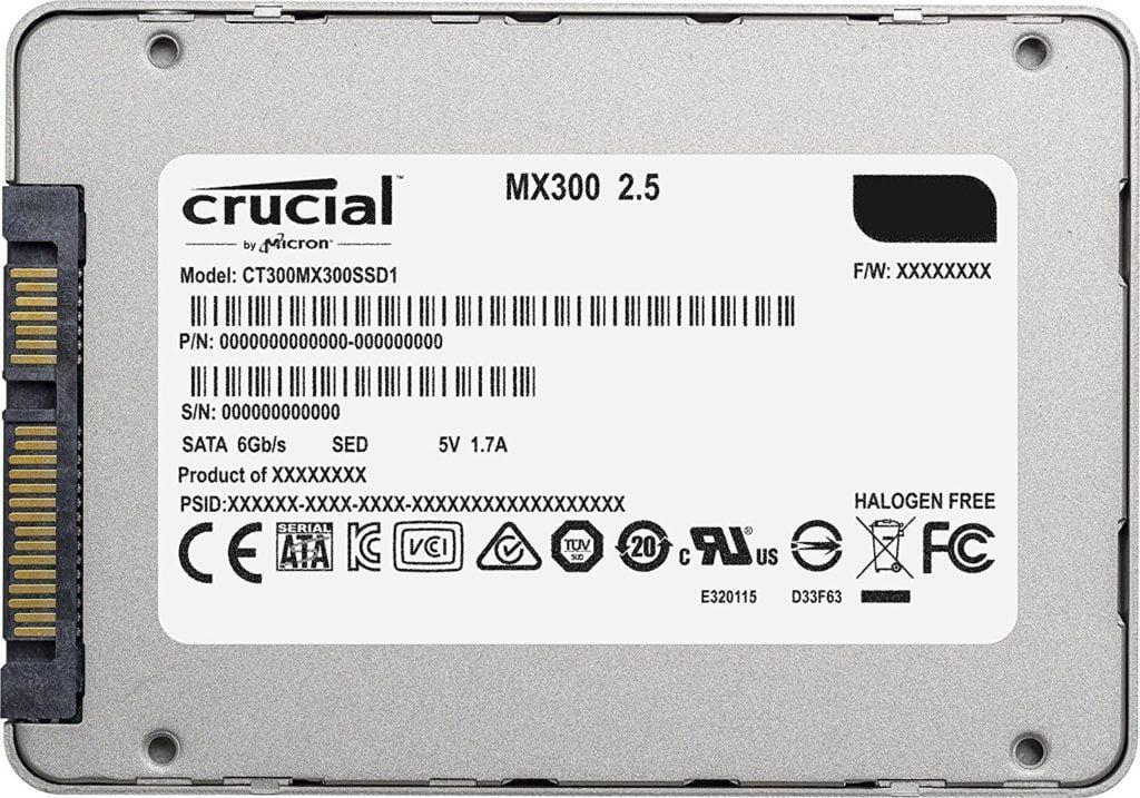 Ổ Cứng SSD Crucial MX300 275gb hinh anh 3