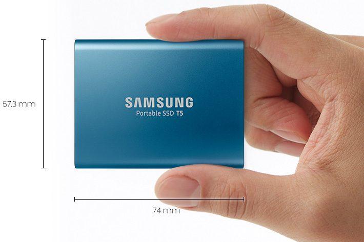 Đánh Giá SSD Di Động Samsung T5 hinh anh 1