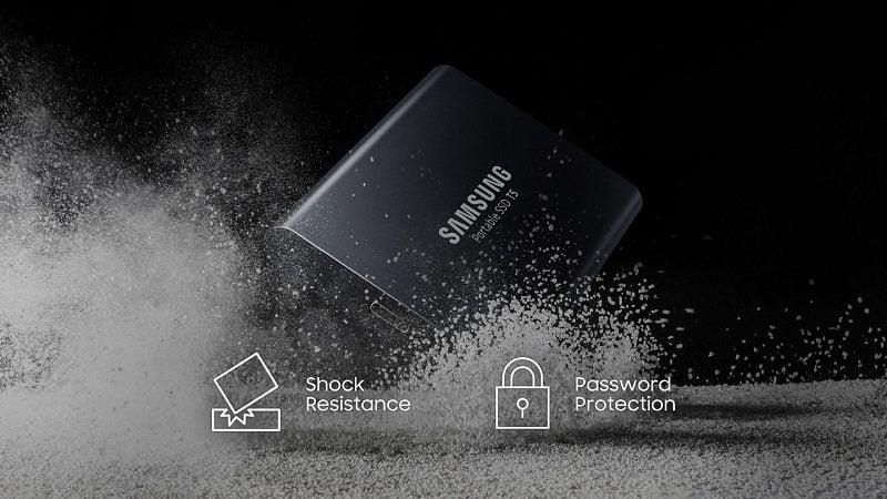 Ổ Cứng SSD Samsung T5 2TB Portable Chính Hãng