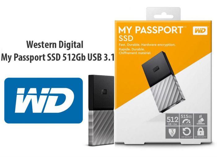 Ổ Cứng WD My Passport SSD 512GB