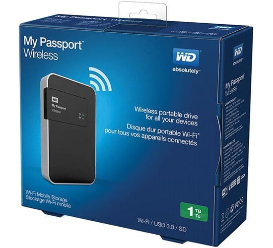 ổ cứng WD My Passport Wireless 1TB