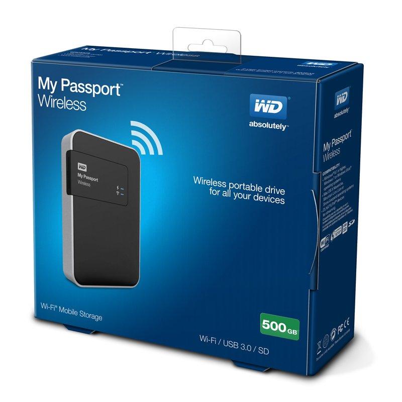 ổ cứng WD My Passport Wireless 500GB hình ảnh 3
