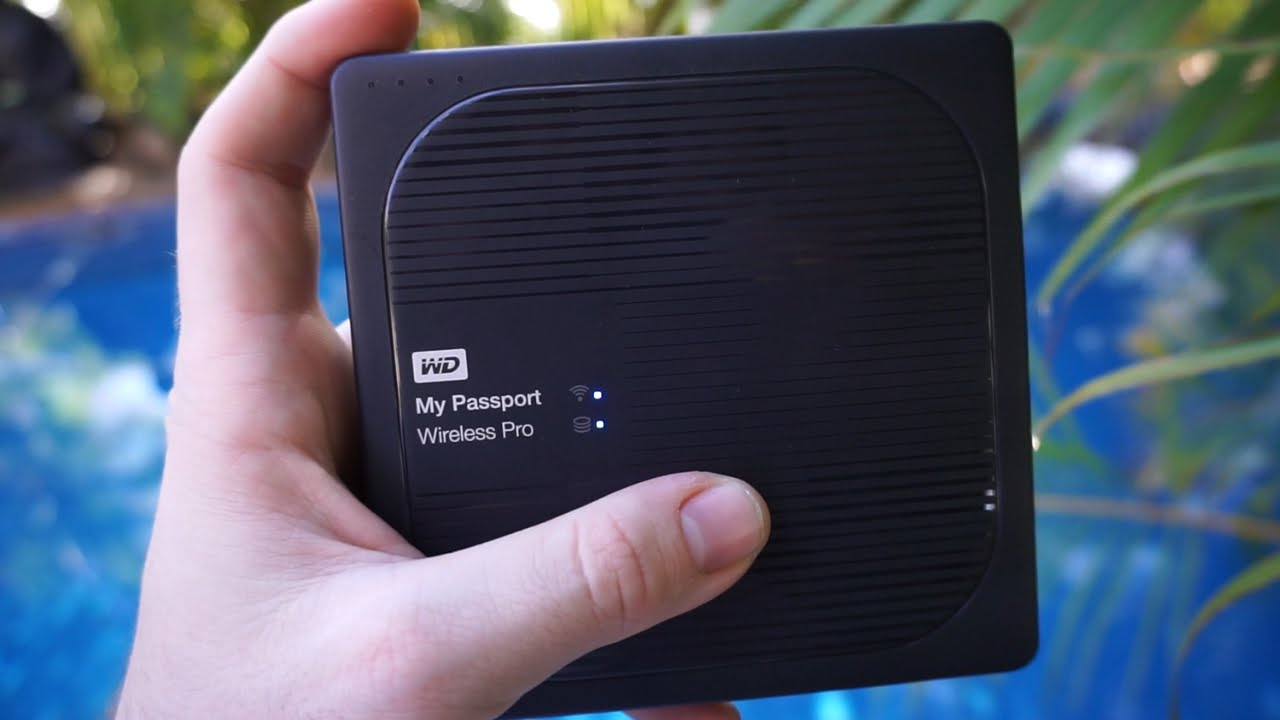 Ổ Cứng Di Động WD My Passport Wireless 2TB