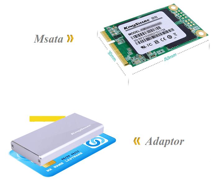 Adaptor Chuyển mSATA to USB 3.0 Cao Cấp hinh anh 1