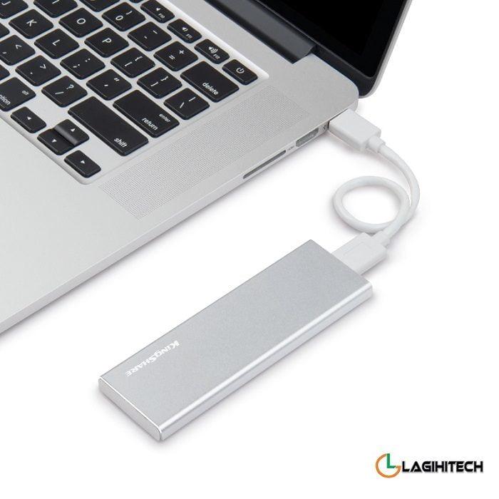 Adaptor Kingshare Chuyển Đổi SSD M2 NGFF To USB 3.0 KS-ANTU28G hinh anh 1