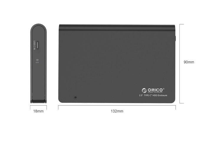 Hộp Đựng Ổ Cứng 2.5 Inch ORICO 2598C3 USB 3.0 hinh anh 2