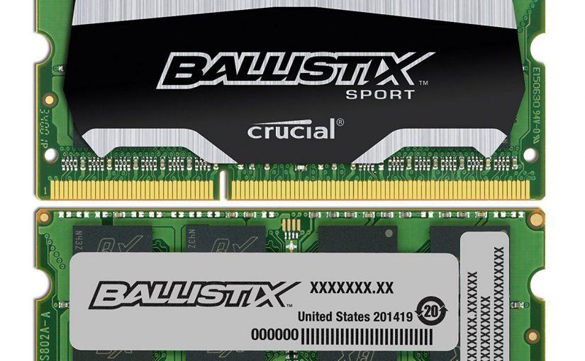 ram laptop ballistix