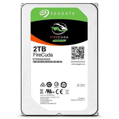 SSHD Seagate Firecuda 2TB