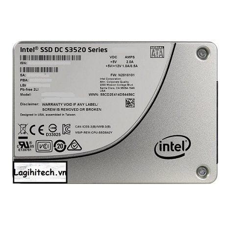 SSD Enterprise Intel DC S3520 1.6TB SSDSC2BB016T701