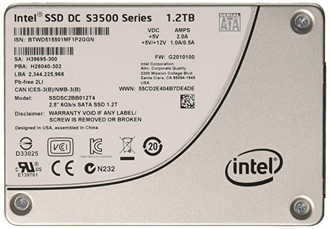 Ổ Cứng SSD Enterprise Intel DC S3500 1.2TB