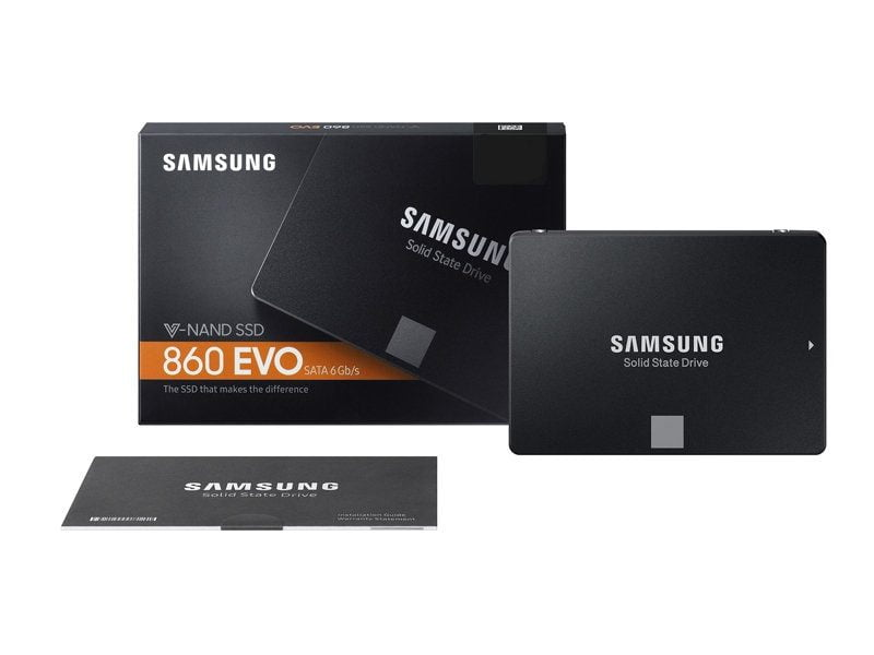 c ng ssd samsung 860 evo 1tb 2 5 inch sata iii mz 76e1t0bw ssd samsung 860 evo series. Black Bedroom Furniture Sets. Home Design Ideas