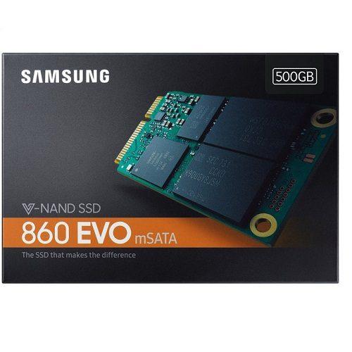 SSD Samsung 860 EVO 500GB mSATA MZ-M6E500BW