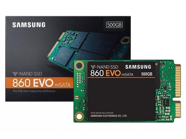 SSD Samsung 860 EVO 500GB mSATA Chính Hãng