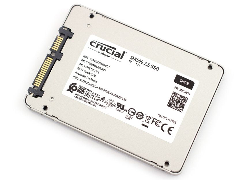 SSD Crucial MX500 500GB sata iii