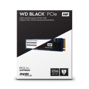 SSD WD Black 256gb