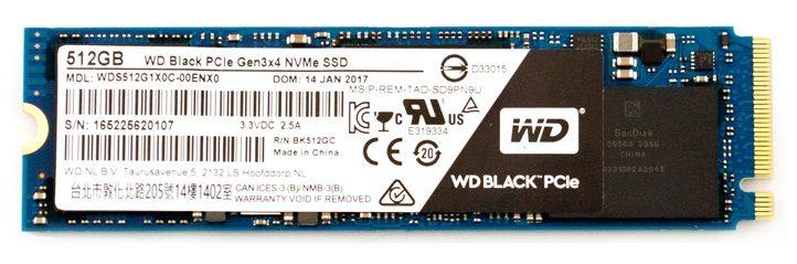 Ổ Cứng SSD WD Black 512GB M2 2280 NVMe