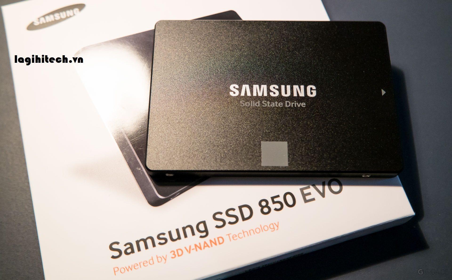 Samsung 850 evo 250gb và Crucial MX500 250gb hinh anh 1