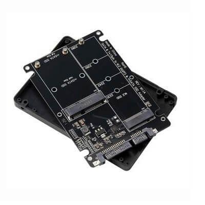 Adapter Chuyển Đổi SSD mSATA + M2 SATA to SATA iii 2.5 inch (Màu ngẫu nhiên) 1