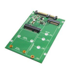 Adapter chuyển mSATA, M.2 SATA To SATA 2.5 Inch