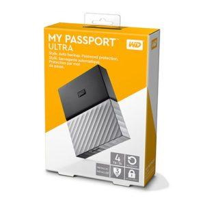 Ổ Cứng Di Động Gắn Ngoài WD My Passport Ultra 4TB