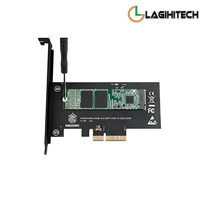 Adapter Chuyển Đổi SSD M2 NVMe To PCIe