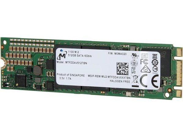 Ổ cứng SSD Micron 1100 512GB M2 2280