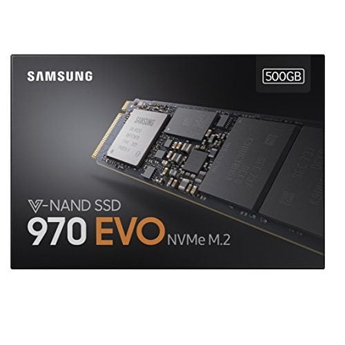 SSD Samsung 970 EVO 500GB M2 2280 MZ-V7E500BW