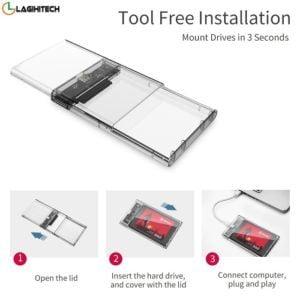 Adaptor Kingshare Chuyển Đổi SSD sata iii 2.5 Inch To USB 3.0 hinh anh 2