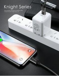 Cáp Chuyển Đổi Mcdodo USB Type C to Lightning hinh anh 2