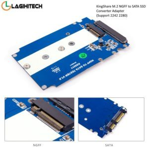 Adapter Kingshare Chuyển Đổi SSD M2 NGFF To sata iii 2.5 Inch KS-AMSTS25 hinh anh 3