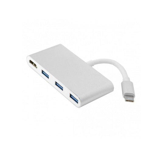 Cáp USB Type C 4 in 1 To HDMI, 3 x USB 3.0