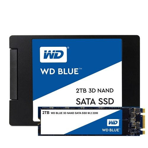 Ổ Cứng SSD WD Blue 2TB 3D NAND
