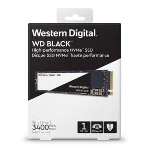 Ổ Cứng WD Black 1TB M2 2280 NVMe WDS100T2X0C
