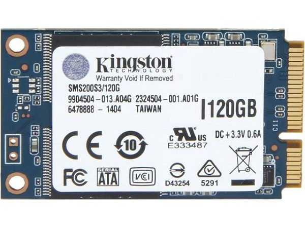 SSD Kingston UV500 120GB mSATA