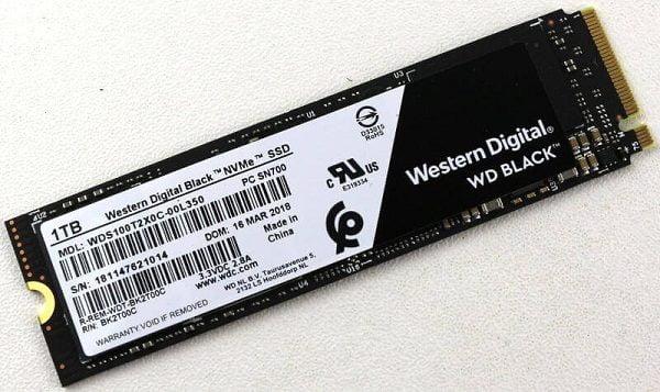 Ổ cứng SSD WD Black 1TB PCIe