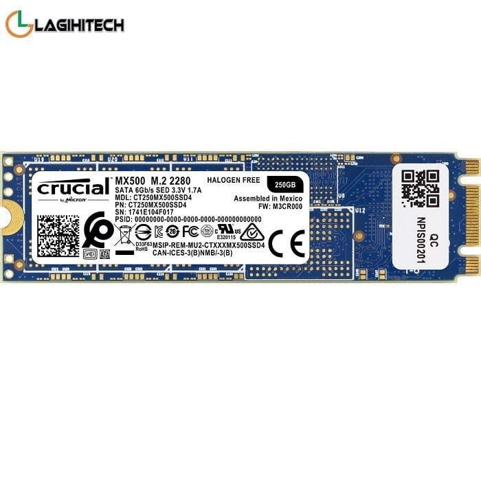 Ổ Cứng SSD Crucial MX500 250GB M2 2280