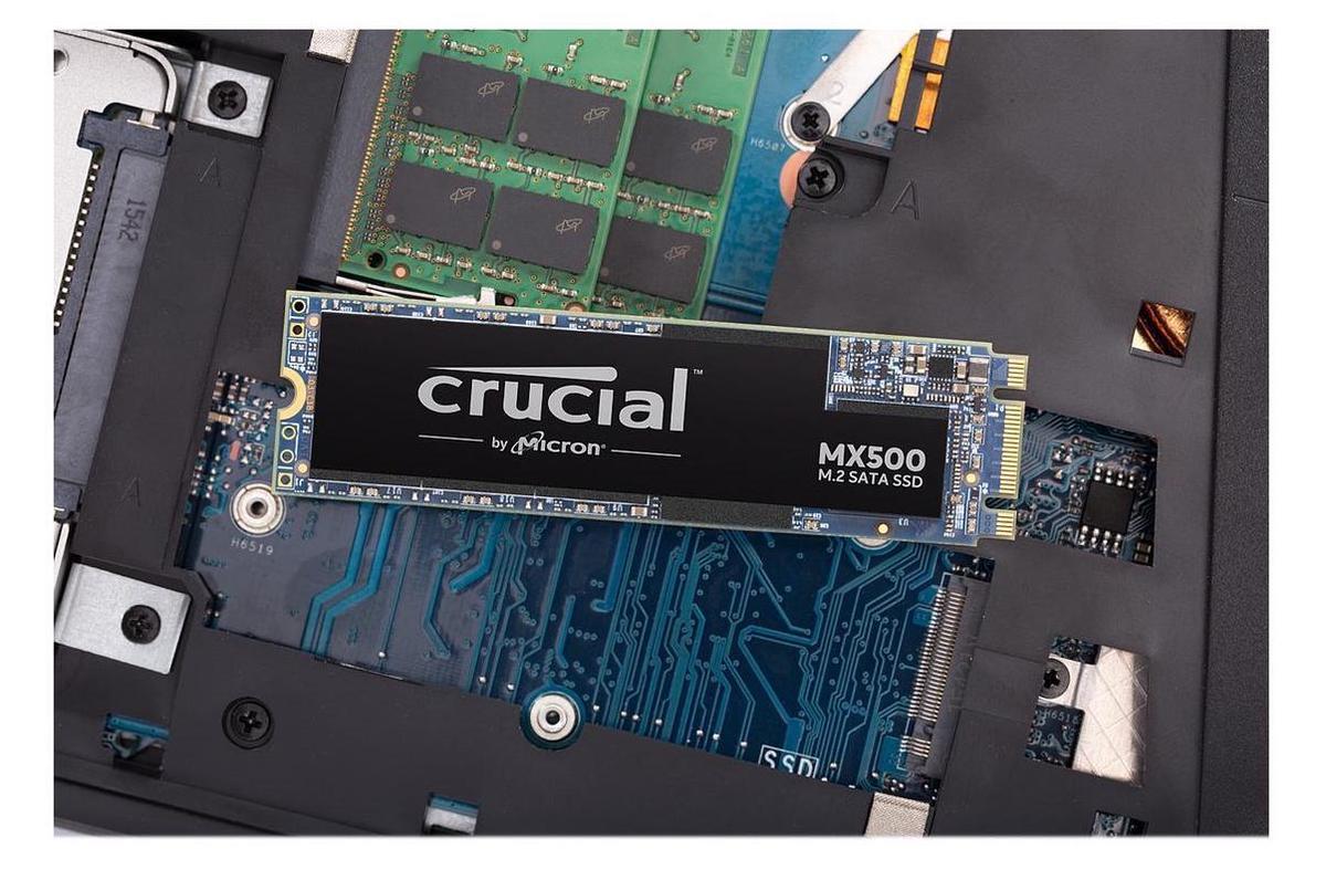 Nâng Cấp SSD Crucial MX500 500GB