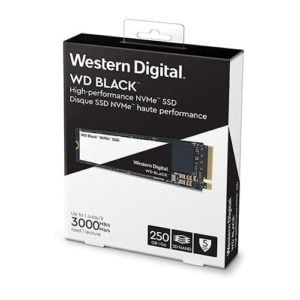 Ổ Cứng Western Digital Black 250GB M2 2280 NVMe