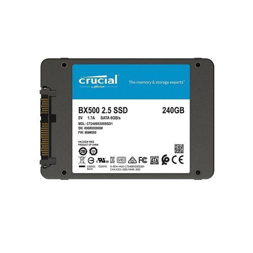 SSD Crucial BX500 240GB 2.5 inch SATA III 3D NAND