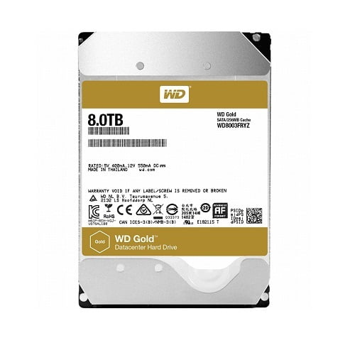 Ổ Cứng Server Western Digital Gold 8TB