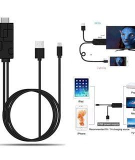 Cáp Chuyển Đổi Lightning To HDMI