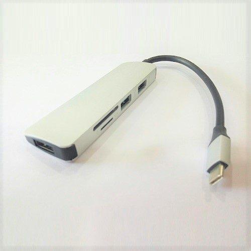 Cáp USB-C To 3 x USB 3.0, Thẻ Nhớ SD