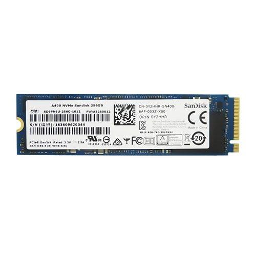 SSD Sandisk A400 256GB M2 PCIe NVMe