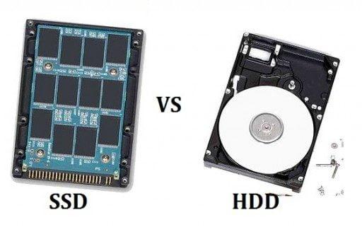So sánh ổ cứng SSD và ổ cứng HHD