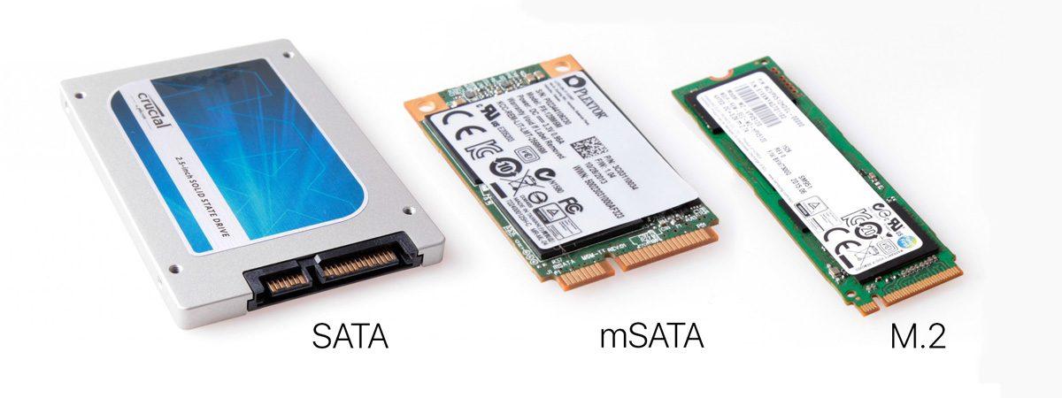Tìm hiểu ổ cứng SSD các loại