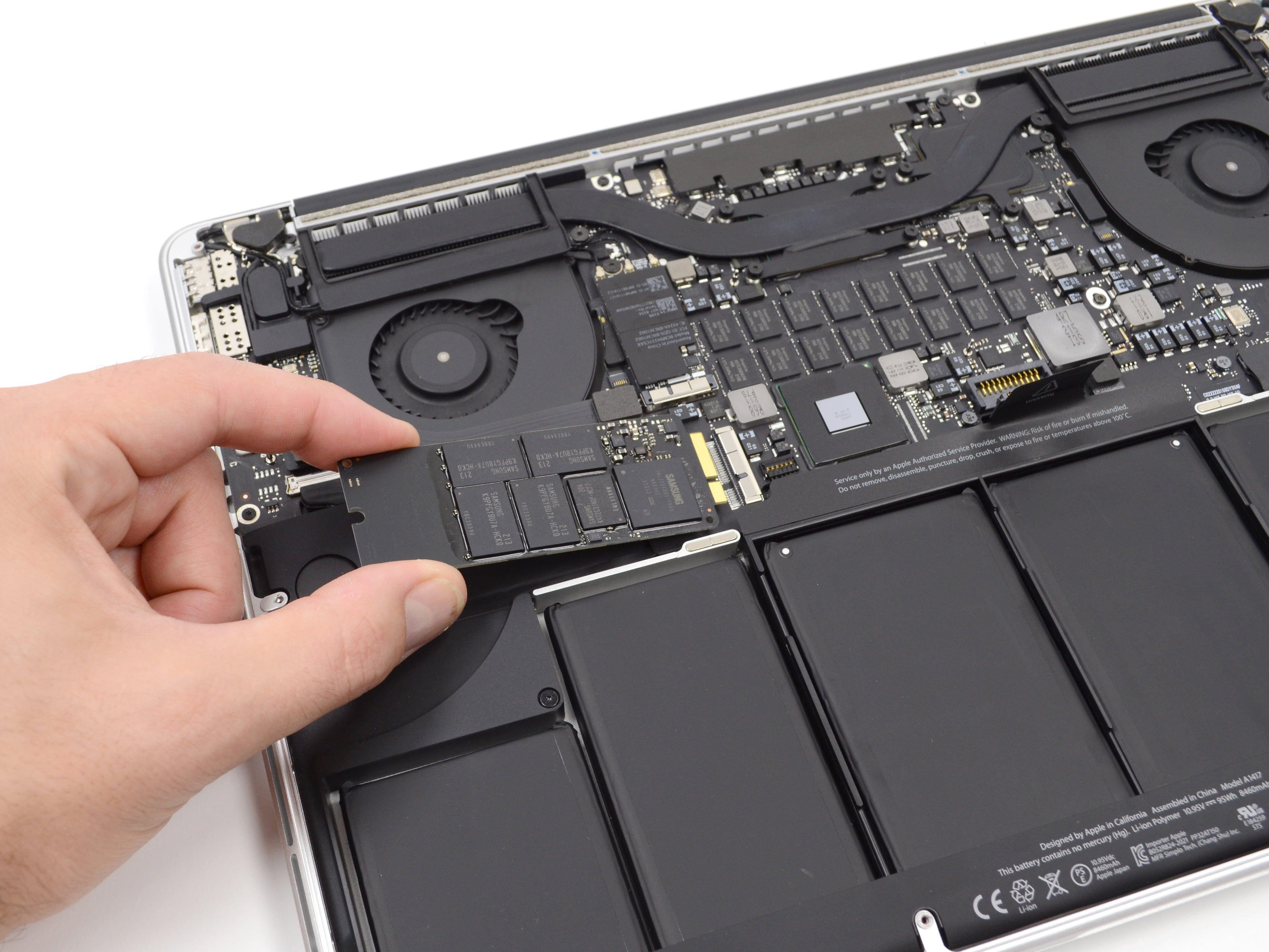 Nâng cấp ổ cứng SSD Macbook